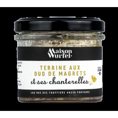 Terrine aux Duo de Magrets et ses Chanterelles
