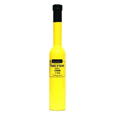 Huile d'olive Thym Citron Bio Savor et Sens 250 ml