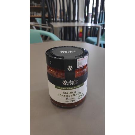Caviar de Tomates Séchées Recette aux Cèpes