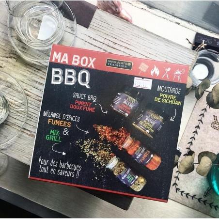 Ma Box BBQ 4 produits Savor et Sens Tradition
