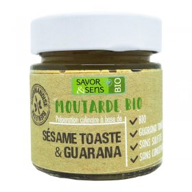 Moutarde Sésame Toasté et Guarana