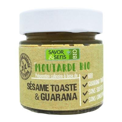 Moutarde Sésame Toasté et Guarana
