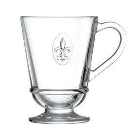 Mug FLEUR DE LYS  - Verre - La Rochère