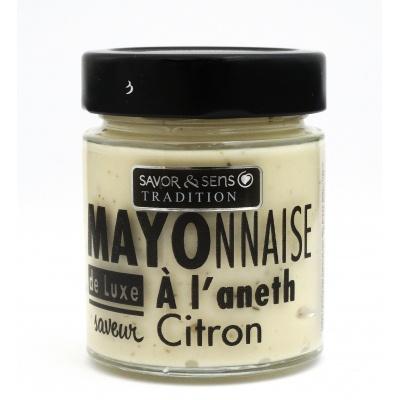 Mayonnaise Aneth et Citron - Savor et Sens -