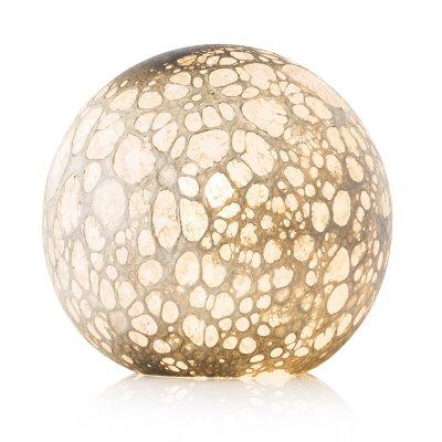 Lampe  Globe - Cratère - Jaune Argent - La Rochère à l'unité