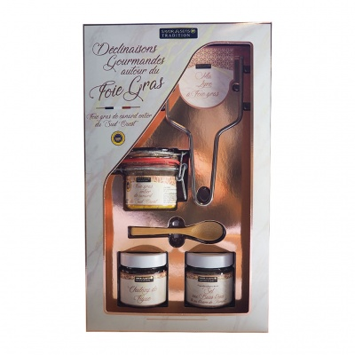 Coffret Declinaisons Gourmandes Autour Du Foie Gras - Savor & Sens