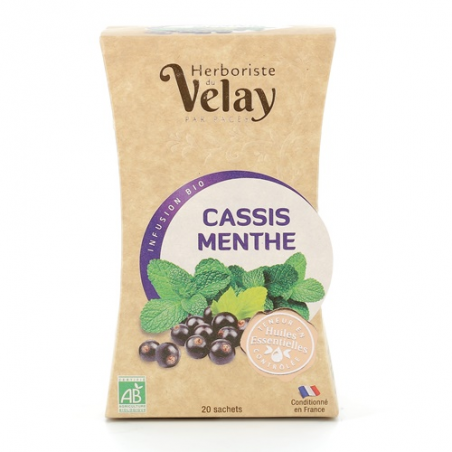 Infusions Cassis Menthe BIO...
