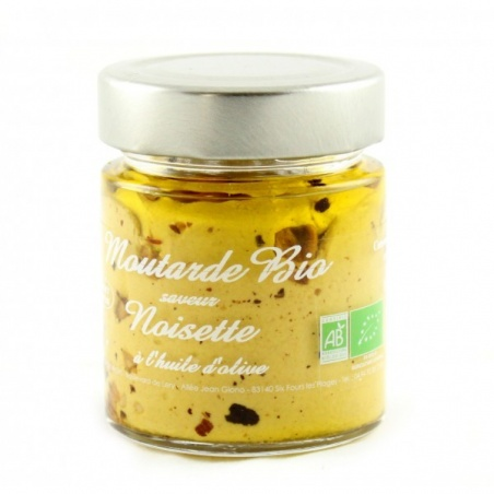 Moutarde Noisette Bio 130g
