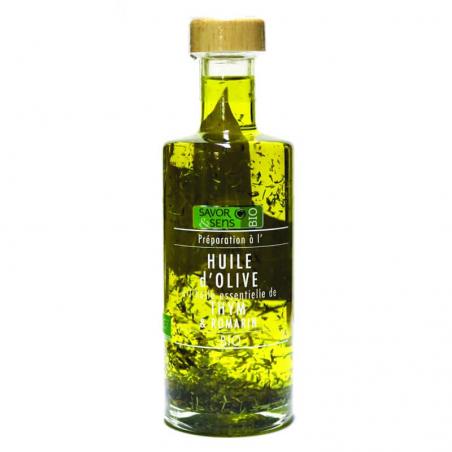 Huile d'olive Thym Romarin...