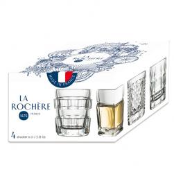 New Coffret AFTER Set de 4 Shooters La Rochere