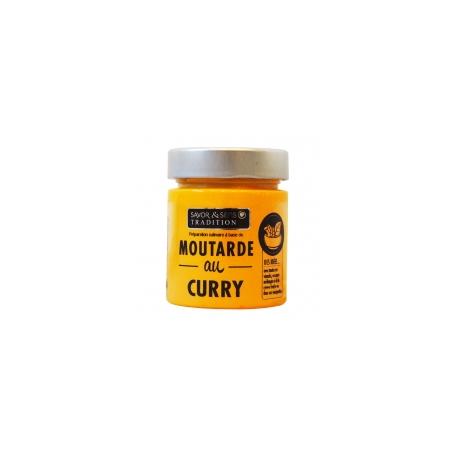 Moutarde Curry 130g - Savor et Sens -