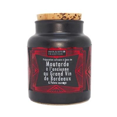 Moutarde aux cèpes et cognac 110 g savor et sens