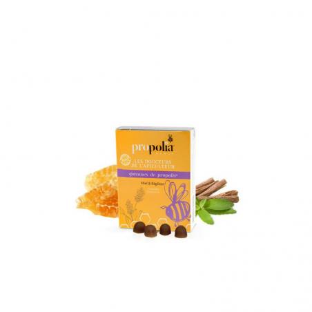 Gommes de propolis miel réglisse Propolia