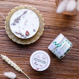 déodorant naturel peau sensible Mandarine bio clémence et vivien