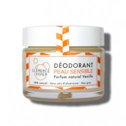 baume déodorant parfum vanille naturel clemence et vivien