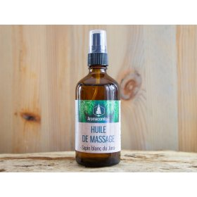 Huile de massage bio aromacomtois sapin blanc du jura bio 100 ml nature et progres