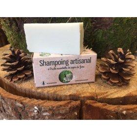 shampooing solide bio sapin 85 g aromacomtois nature et progres