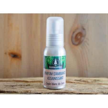 Parfums d'ambiance assainissant bio 50 ml aromacomtois nature et progres