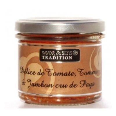 Délice de Tomate, Tomme et Jambon