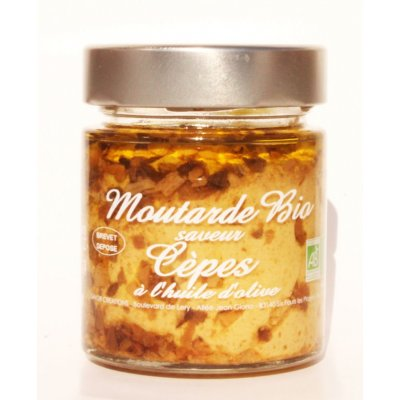 Moutarde Cèpes Bio 130g